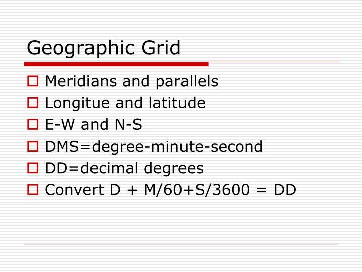 Geographic Grid