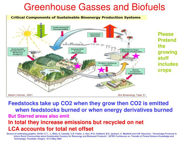Greenhouse Gasses and Biofuels