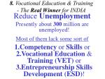 8 vocational education training the real winner for india