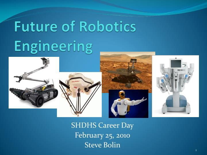 future of robotics engineering n.