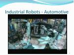 industrial robots automotive