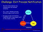 challenge exit process notification1