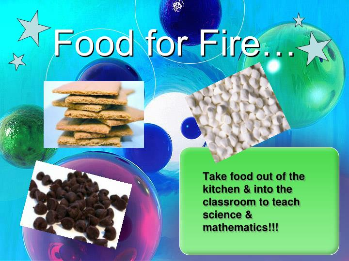 Food for Fire…