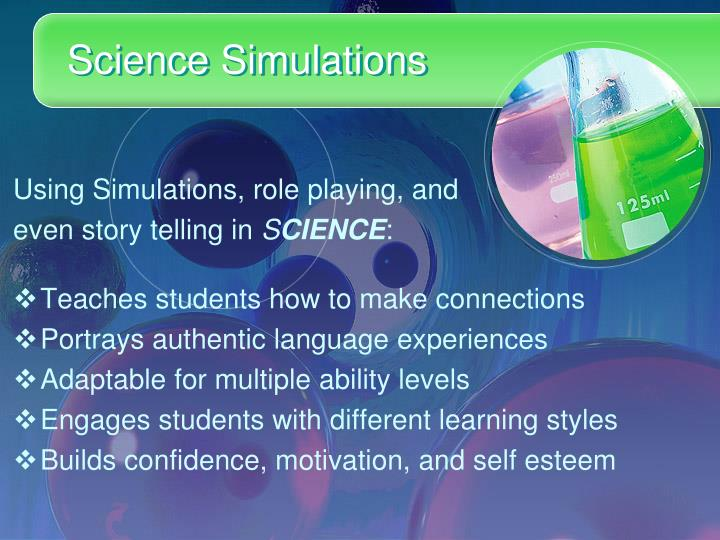 Science Simulations