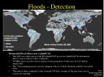 floods detection