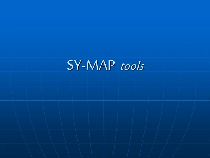 sy map tools