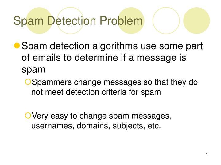 Spam Detection Problem