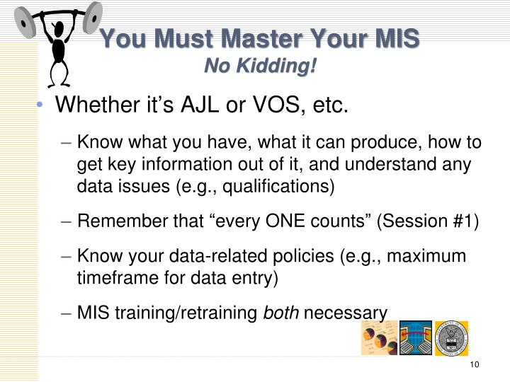 You Must Master Your MIS