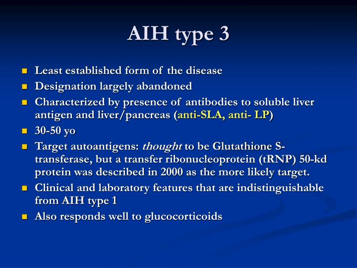 AIH type 3