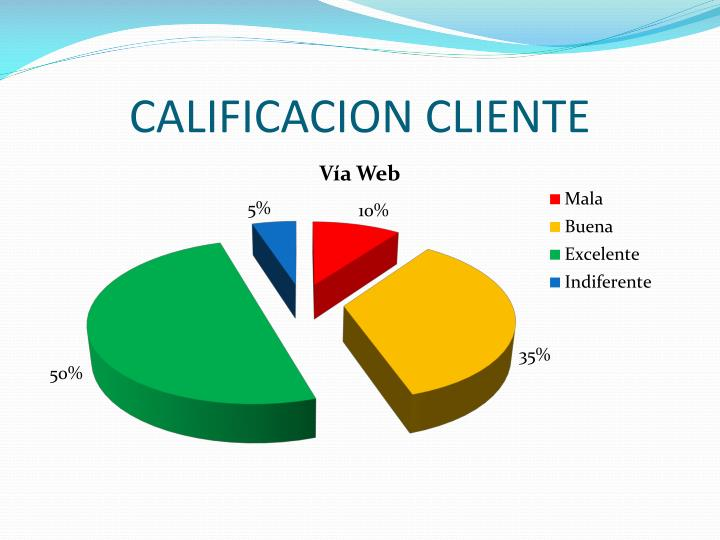 CALIFICACION CLIENTE