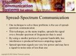 spread spectrum communication