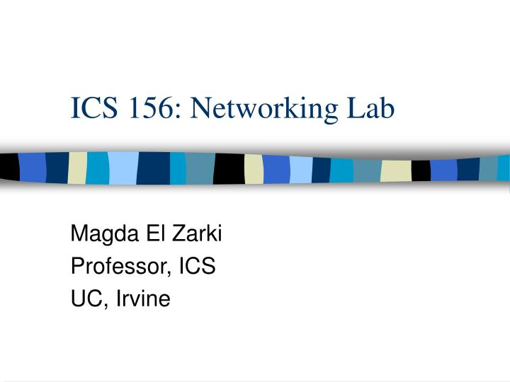 ics 156 networking lab n.