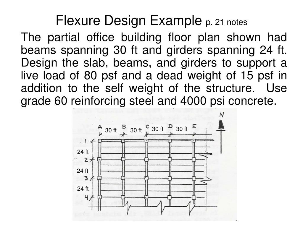 PPT - Reinforced Concrete Flexural Members PowerPoint