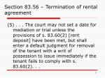 section 83 56 termination of rental agreement