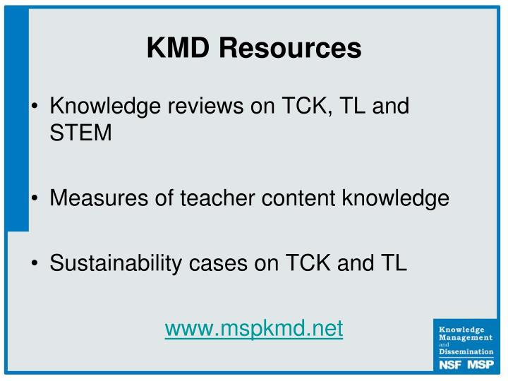 KMD Resources