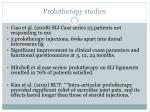 prolotherapy studies