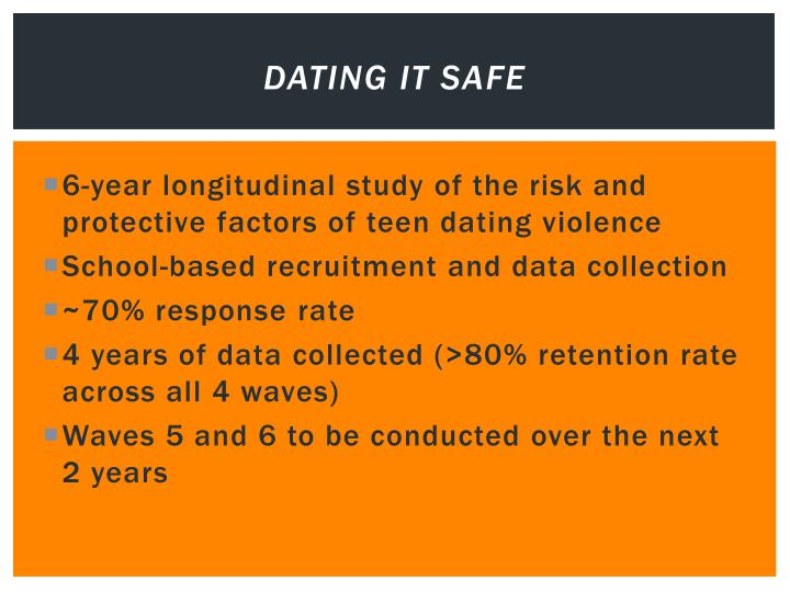 Dating it Safe