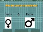 who the course is suitable for5