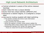 high level network architecture1