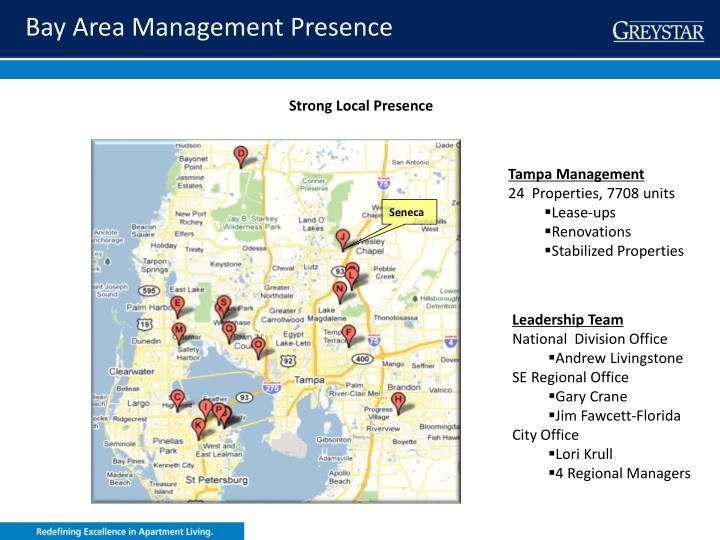 Bay Area Management Presence