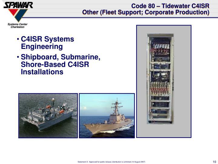 C4ISR Systems Engineering