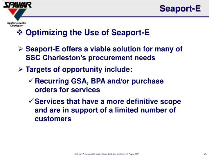 Seaport-E