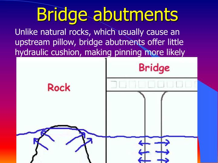 Bridge abutments