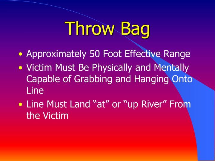 Throw Bag