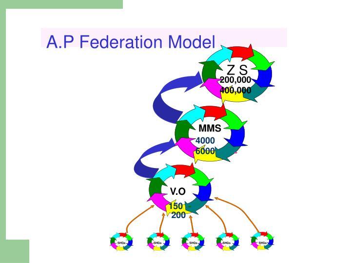 A.P Federation Model