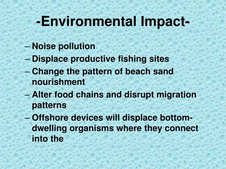 -Environmental Impact-