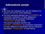 addressbook sample3