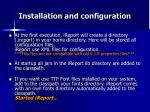 installation and configuration2