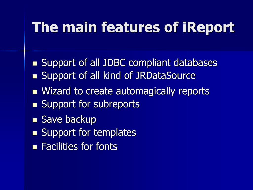 PPT - JasperReports & iReport PowerPoint Presentation - ID:6723346