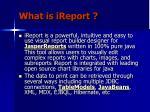 what is ireport