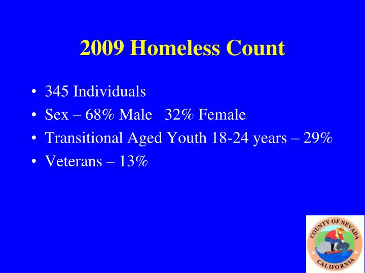 2009 Homeless Count