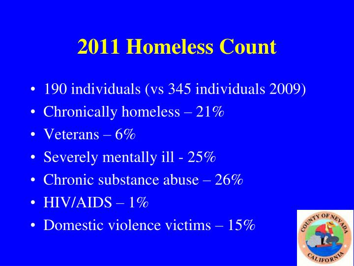2011 Homeless Count