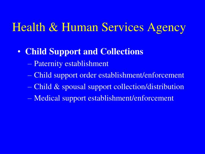 Health & Human Services Agency