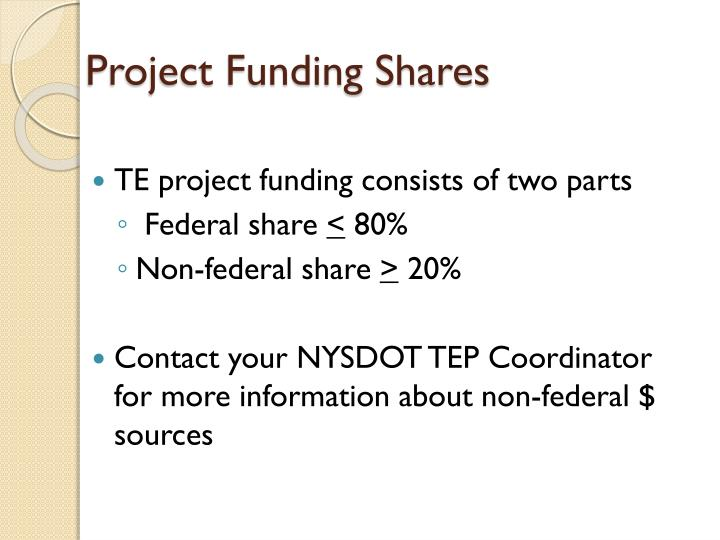 Project Funding Shares