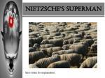 nietzsche s superman