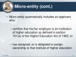 micro entity cont1