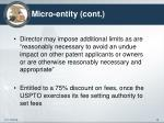 micro entity cont2