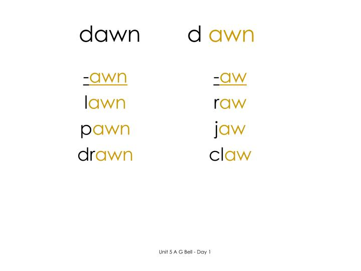 dawnd