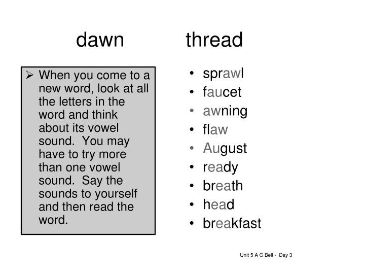 dawnthread