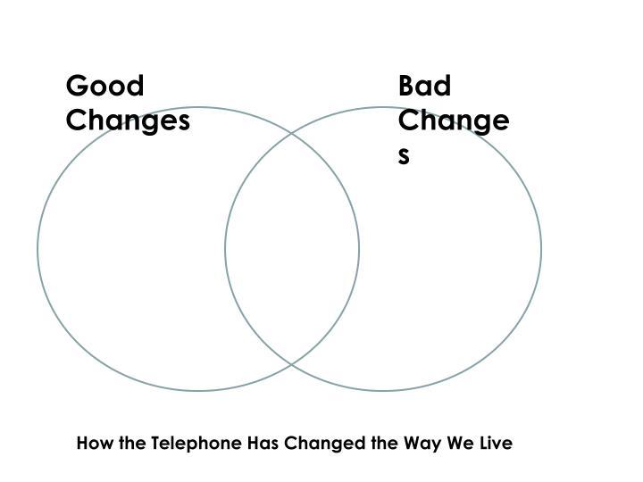 Good Changes