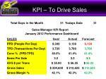 kpi to drive sales3
