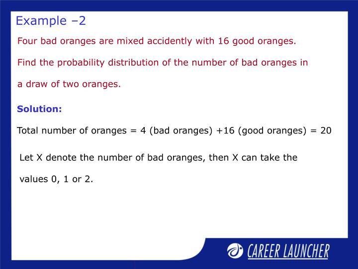 Example –2