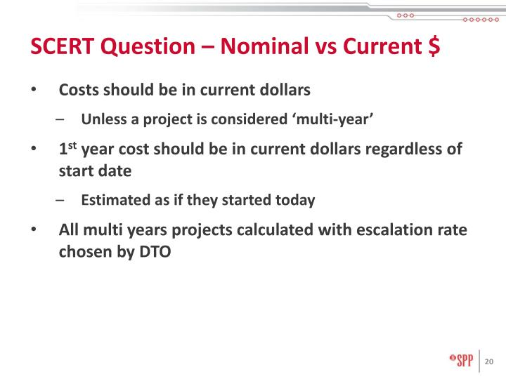 SCERT Question – Nominal vs Current $