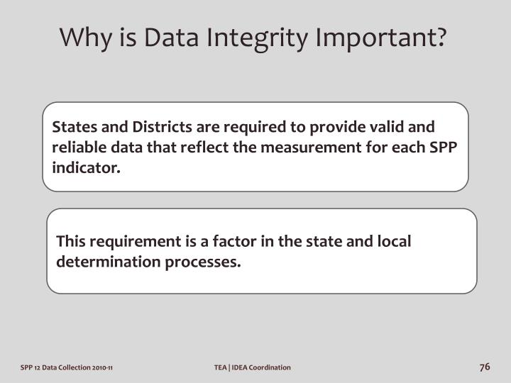 Why is Data Integrity Important?