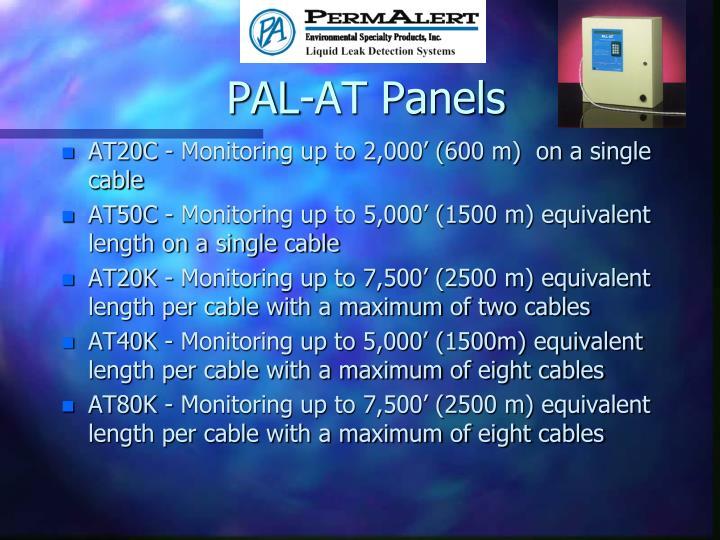 PAL-AT Panels