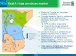 east african petroleum market